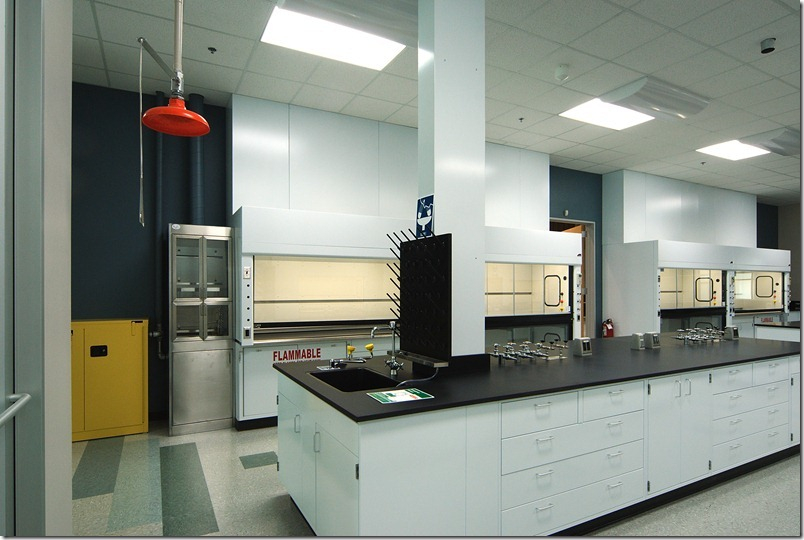 High End Metal Laboratory Casework 2008 Creative Solutions